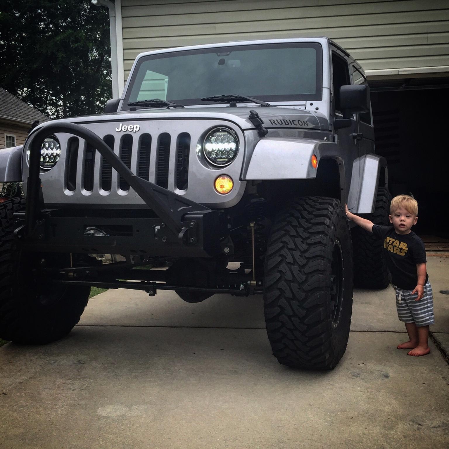 @silverback_jeep Build (2 Door Rubicon)