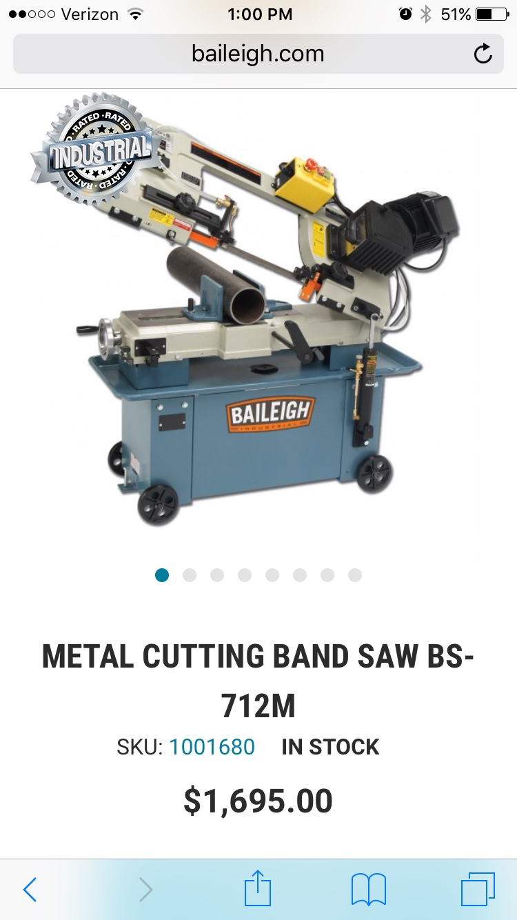 Which 7x12 Bandsaw