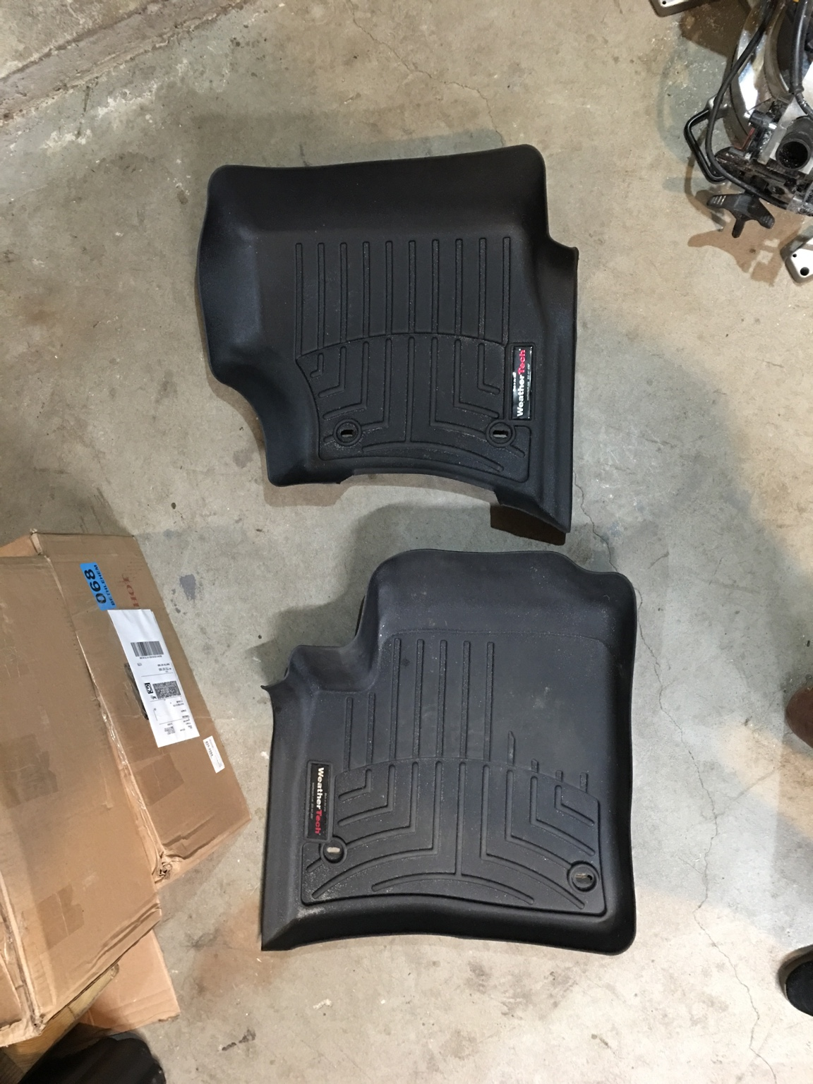 Weathertech mats used - Thread Fs Used Weathertech Mats Front Rear