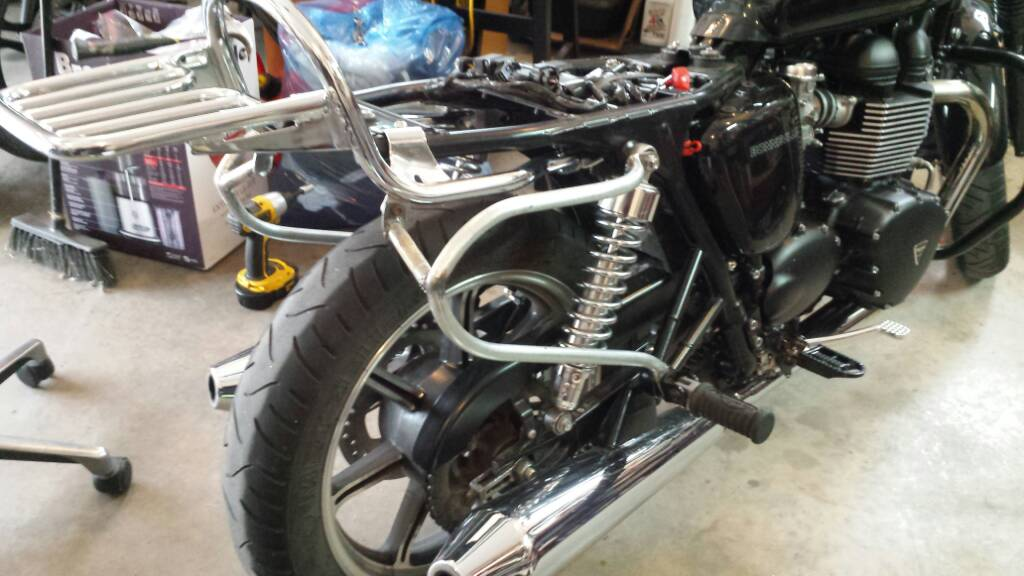 Diy Motorcycle Pannier Rack in addition  on klr 650 rear luge rack