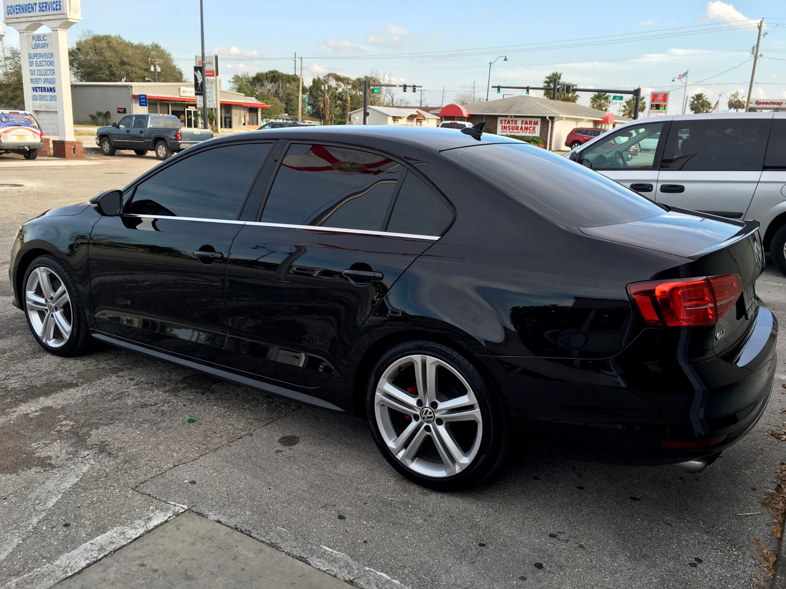 What tint do you have on your vw for 0 percent window tint