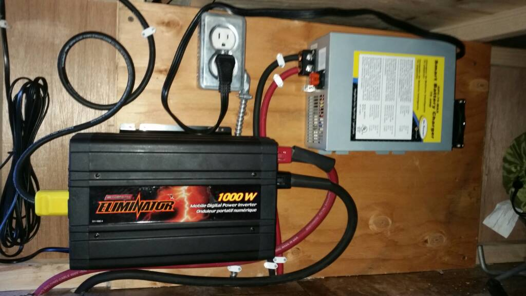 Creative I Have A 2002, 31foot Jayco  Your Battery Bank One That Will Fully Charge Them, Yet Not Exceed The Gassing Voltage During The Charge Cycle Im Guessing The Charging Voltage Might Be Set Too High And A Continued Overcharge By The