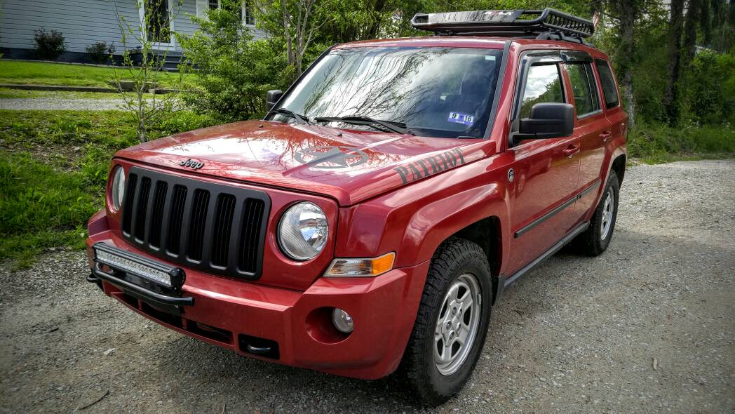 Any one running 225/75R16 on the Steelies - Jeep Patriot ...