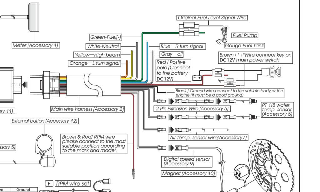 Schema Elettrico Yamaha Tdm : Mt cablaggi strumentazione impianto elettrico