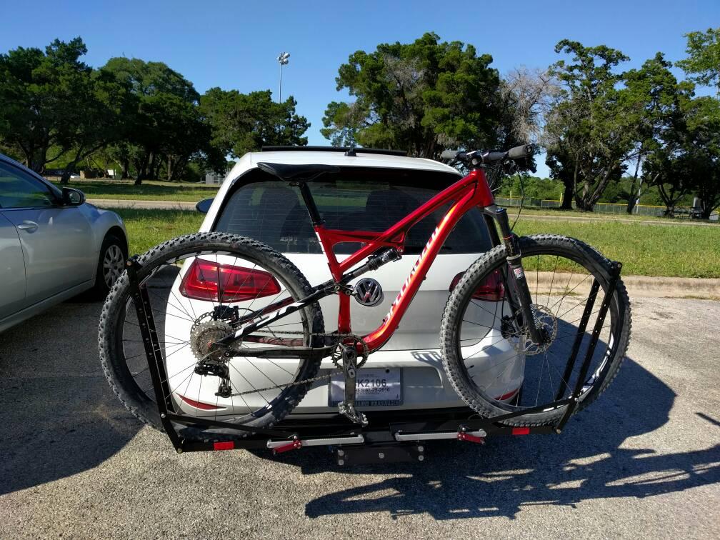 Mk Vii Bike Rack Hitch Golfmk7 Vw Gti Mkvii Forum Vw