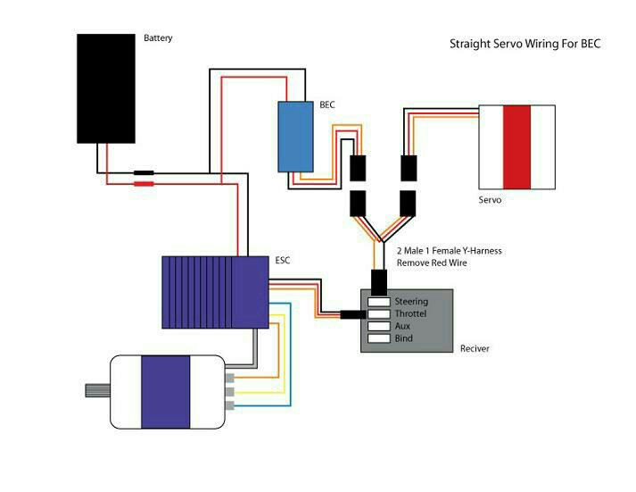 High Voltage Servo Wiring