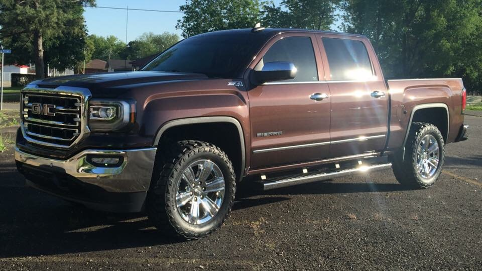 Pics of Lifted trucks with stock wheels - 2014 / 2015 ...