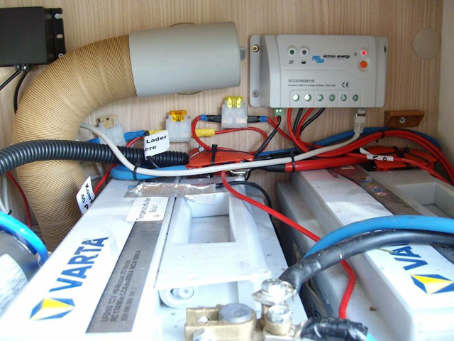 Solarladeregler mpp 350 duo digital