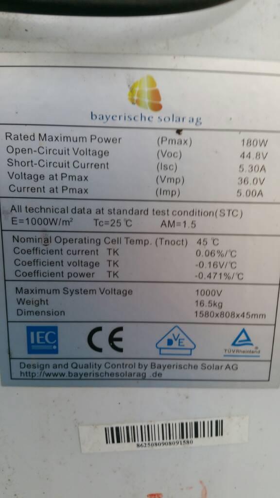 Wasser in Anschlussdose PV Modul• Photovoltaikforum