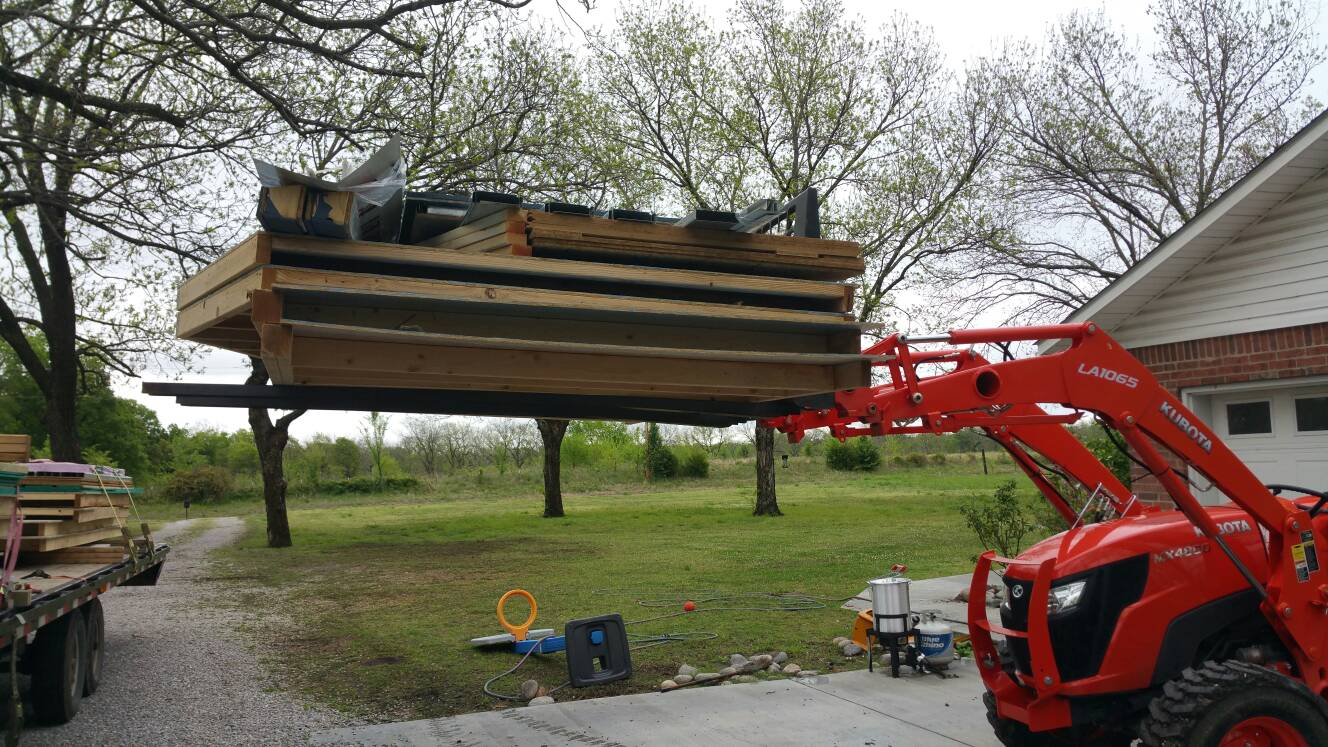 Are you happy with the hydraulic lift capacity of your