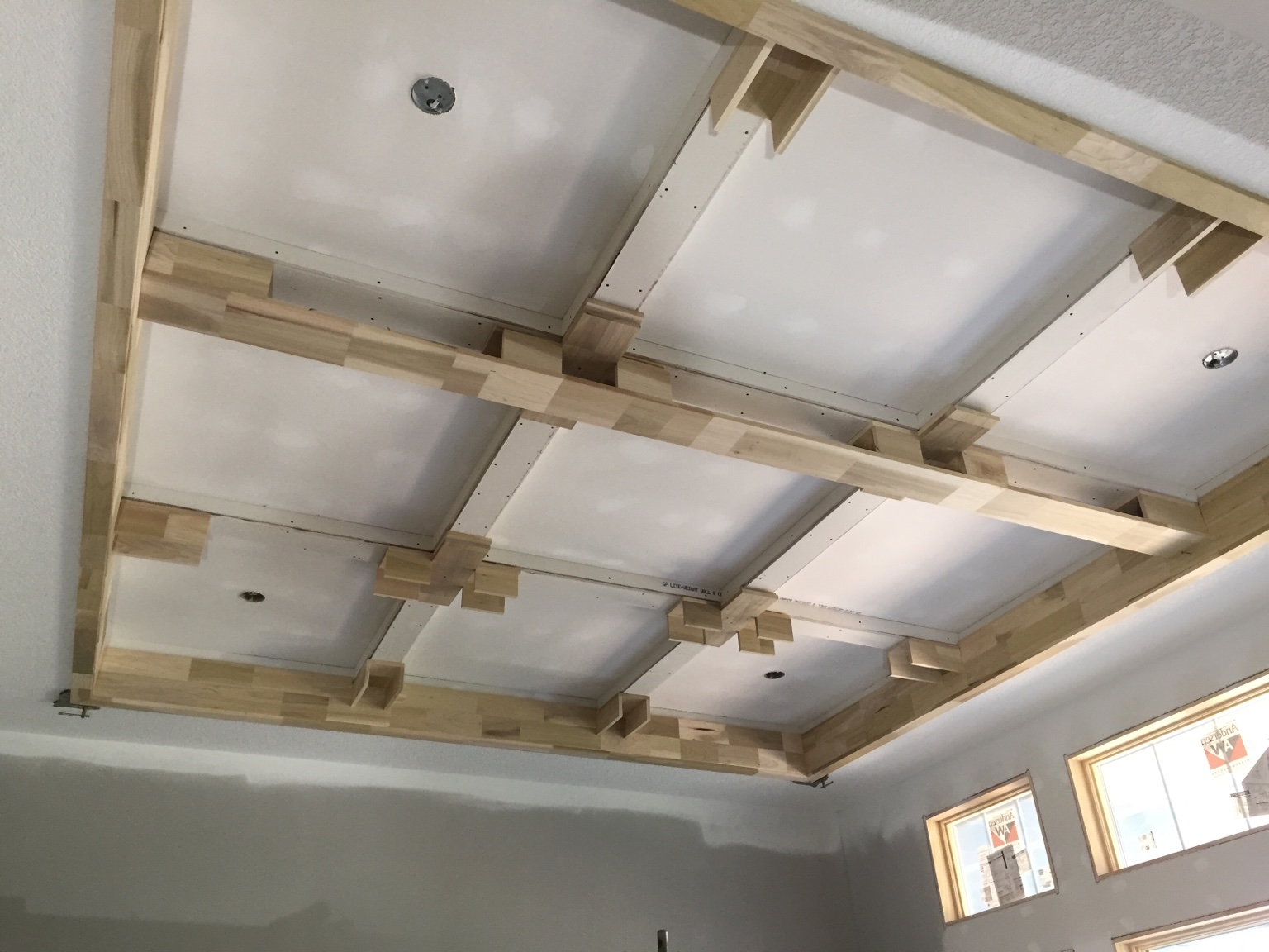 Coffered Ceiling Beams Home Design