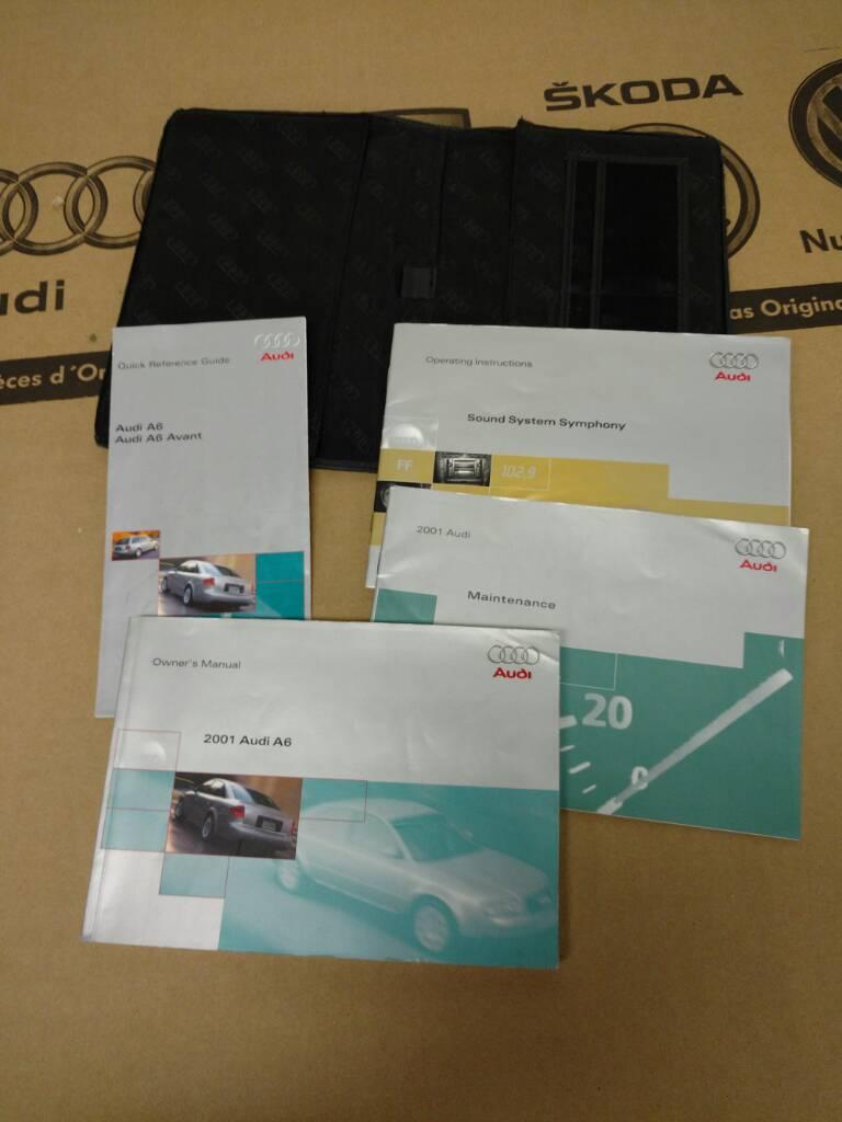 2001 Audi A6 Owner Manual