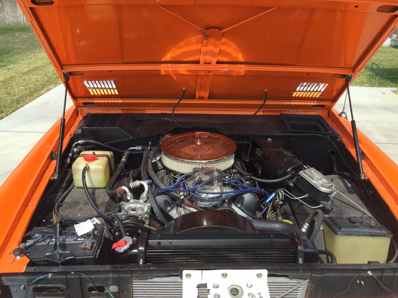 Passenger side sanden A/C compressor mount [Archive
