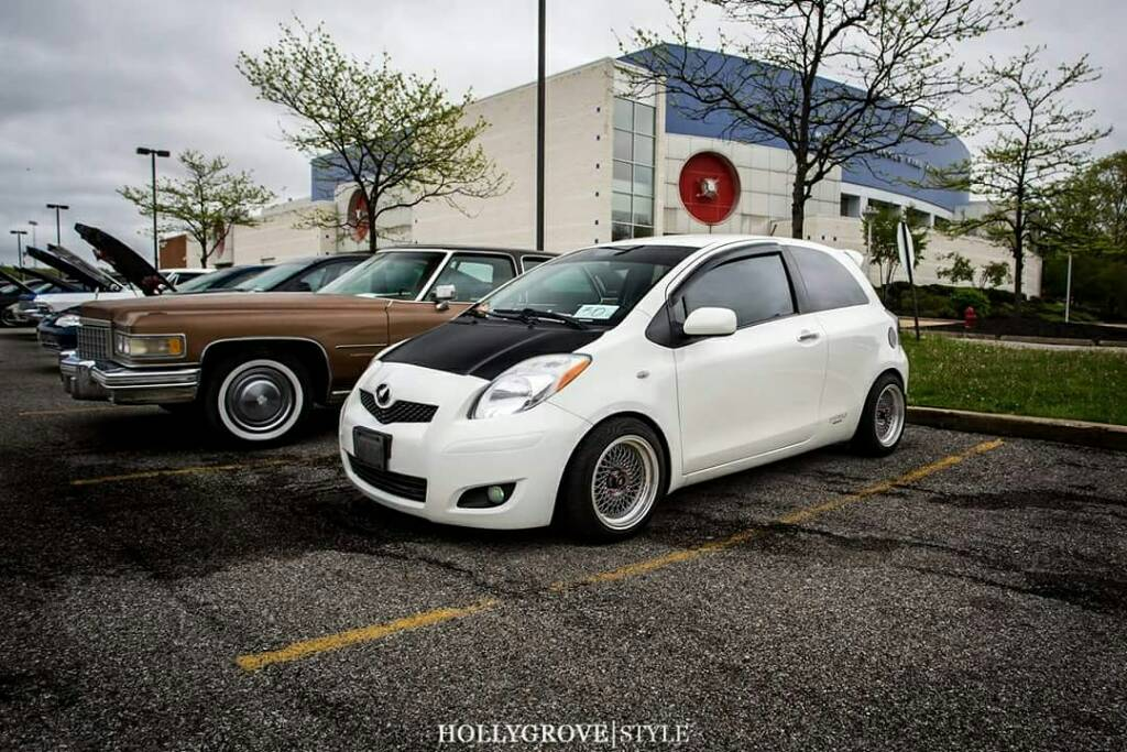 please post pics of your yaris with aftermarket rims here page 90 toyota yaris forums. Black Bedroom Furniture Sets. Home Design Ideas