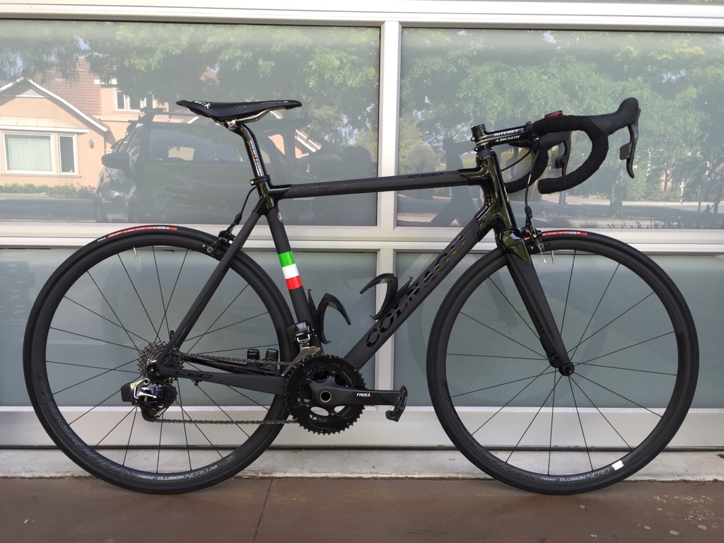 This year my team changed bike sponsors from Orbea to Colnago and I ...