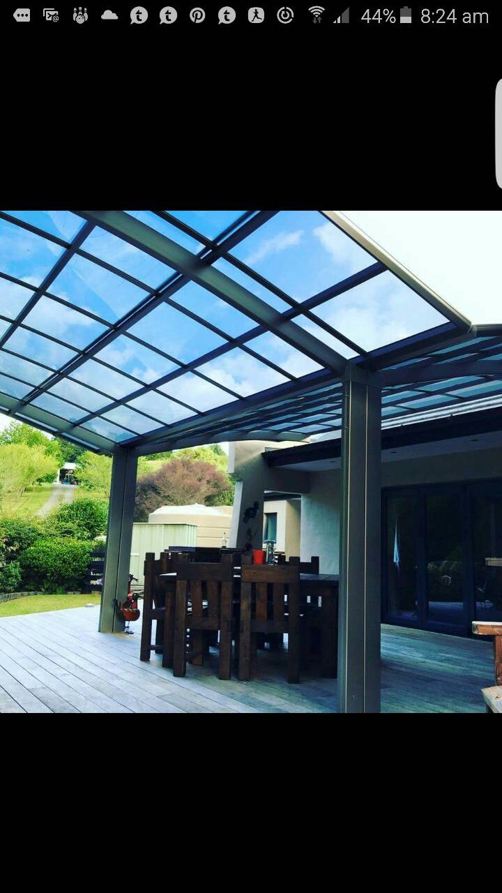 Deck/pergola roof options