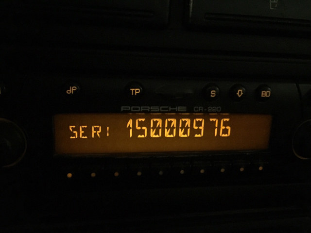 becker cdr 220 radio code - Page 14 - 986 Forum - for