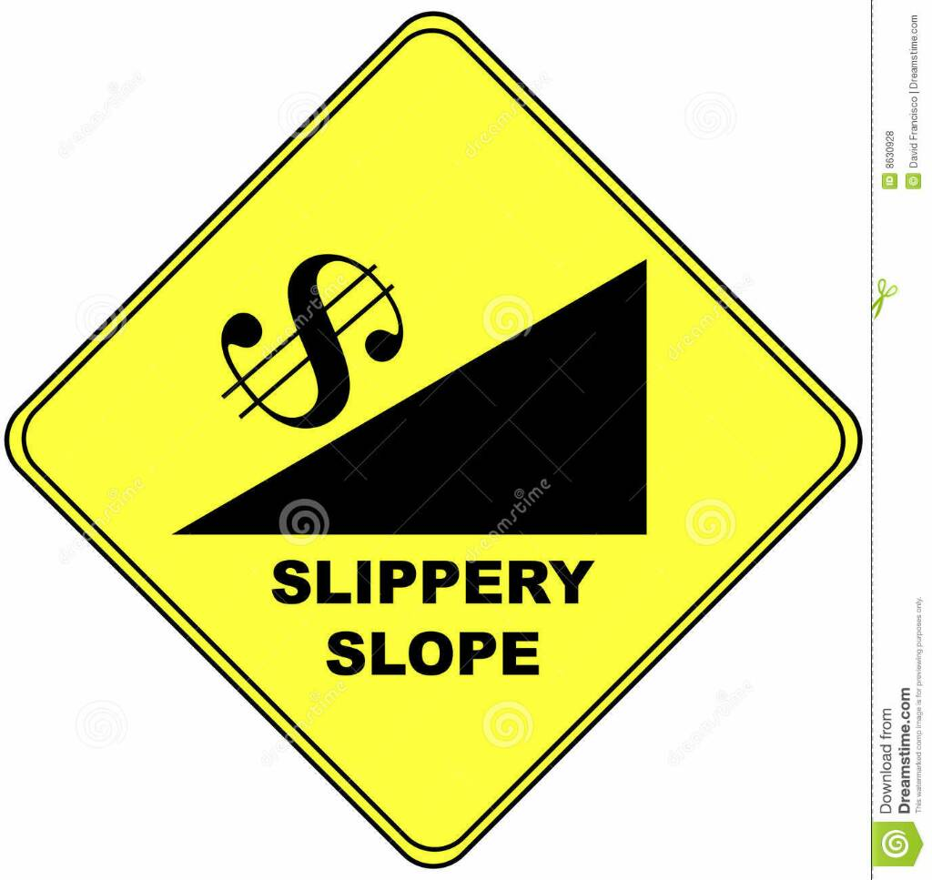 slippery slope 2 essay Slippery slope academic essay topic: slippery slope order description below is the discussion area to review major topics of week 1.