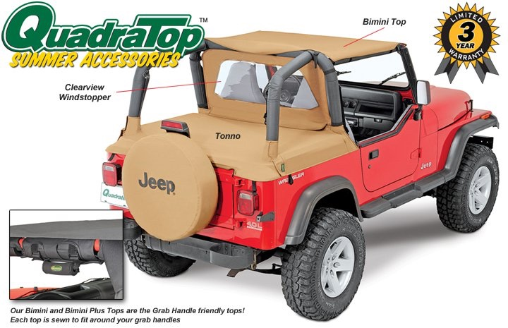 Jeep Bimini Top >> For Sale Jeep Tj Bimini Top Rear Window And Deac Cover