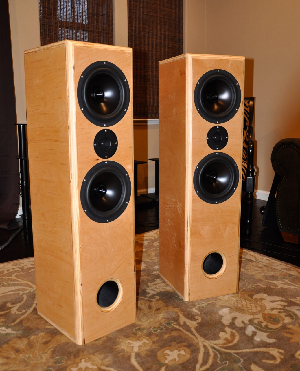 15 Professionally Made Home Theater Designs: RS2-8T MTM RS225 RS28A Project - AVS Forum