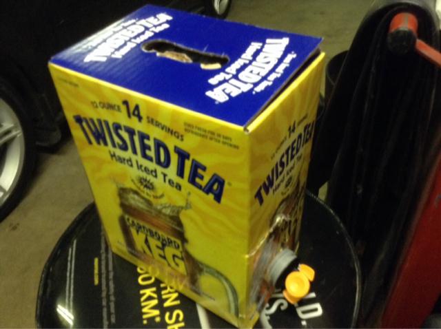 Twisted Tea Keg Iucn Water