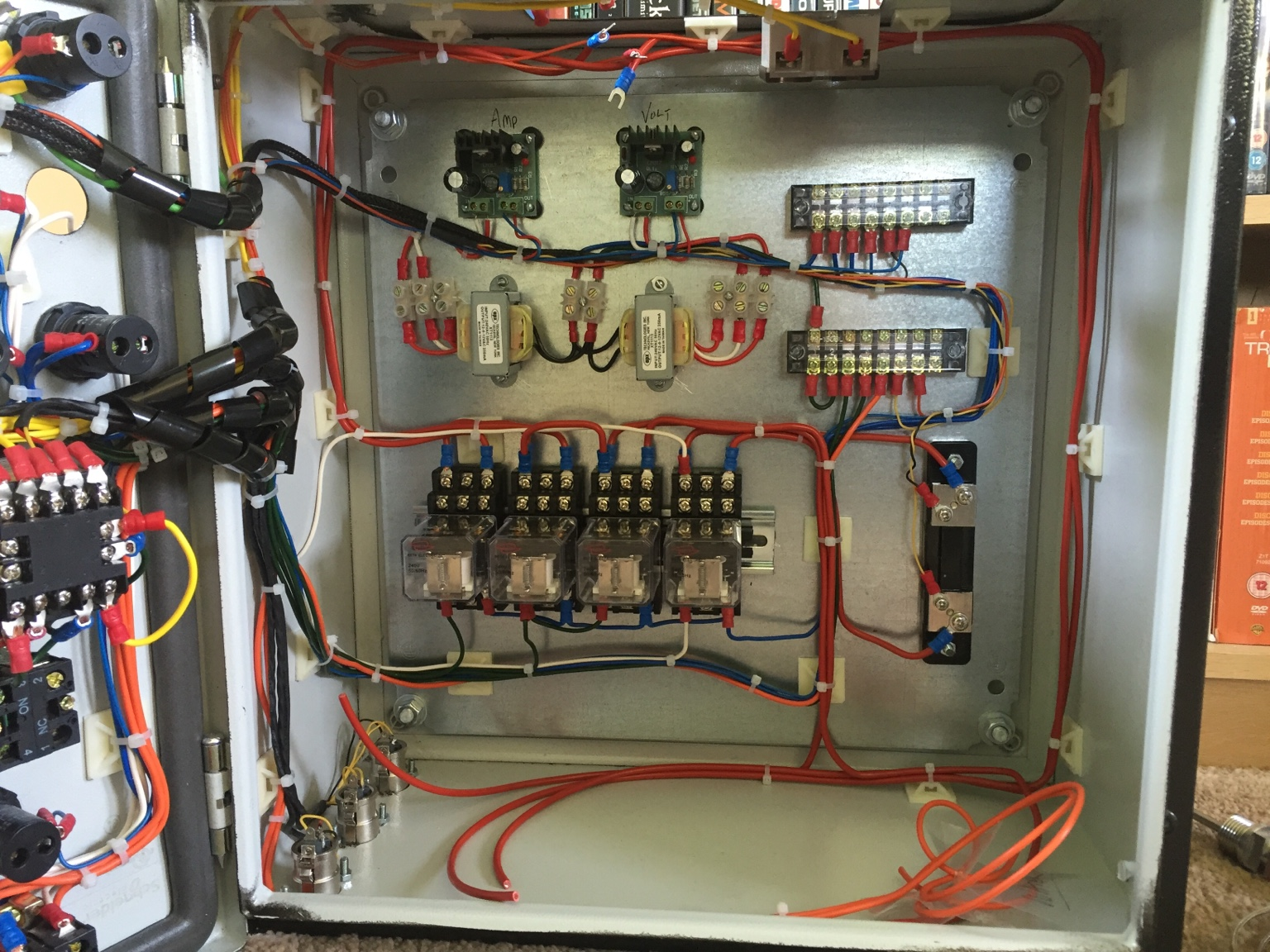 Electric brewery control panel build Home Brew Forum