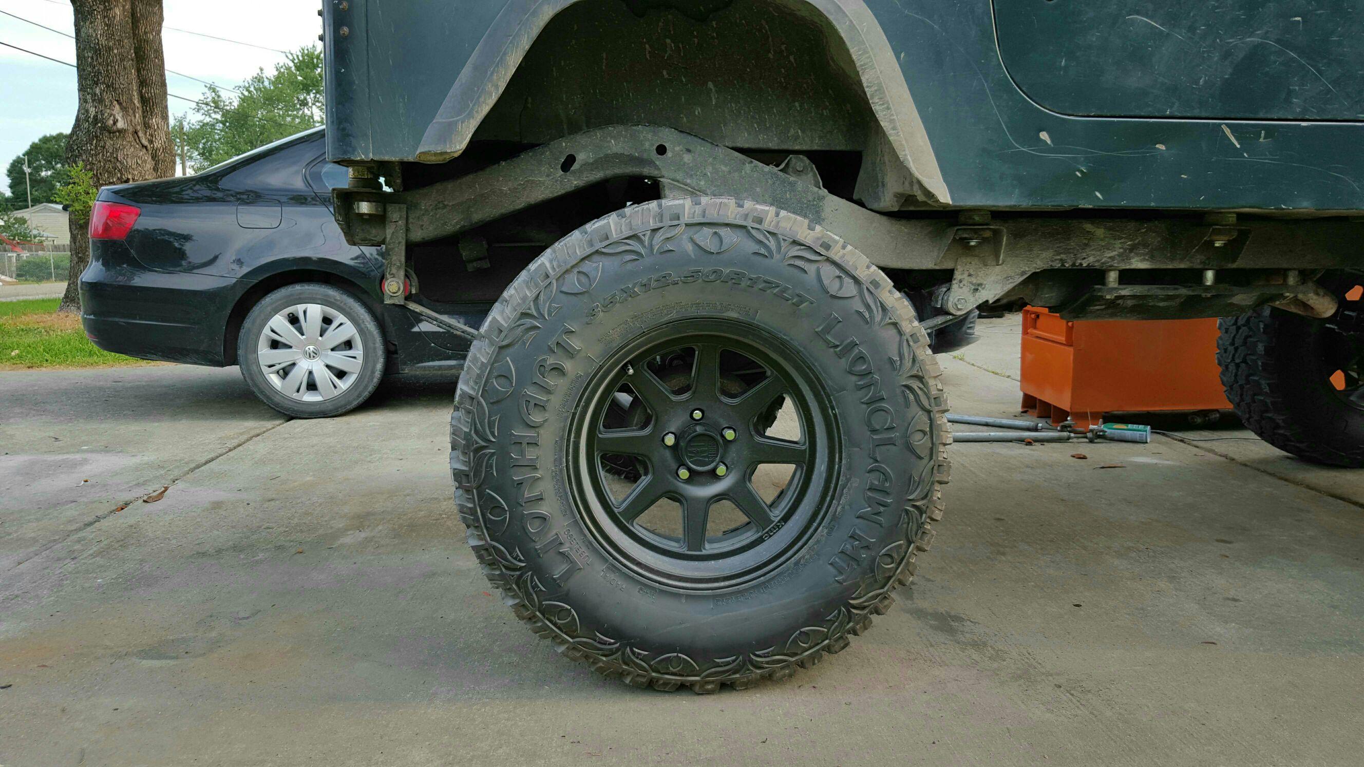 Xd Rims For Sale >> Nice simple black rims - Jeep Wrangler Forum