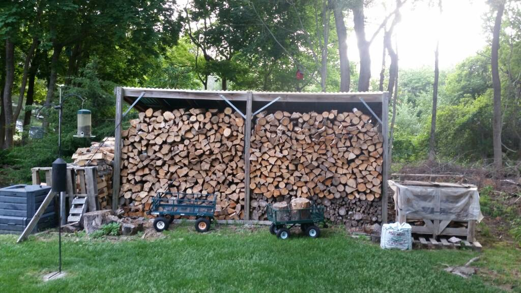 post pictures of your woodpile splitting area page 266