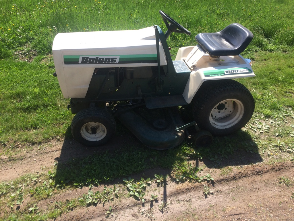 First ride on a bolens - MyTractorForum com - The