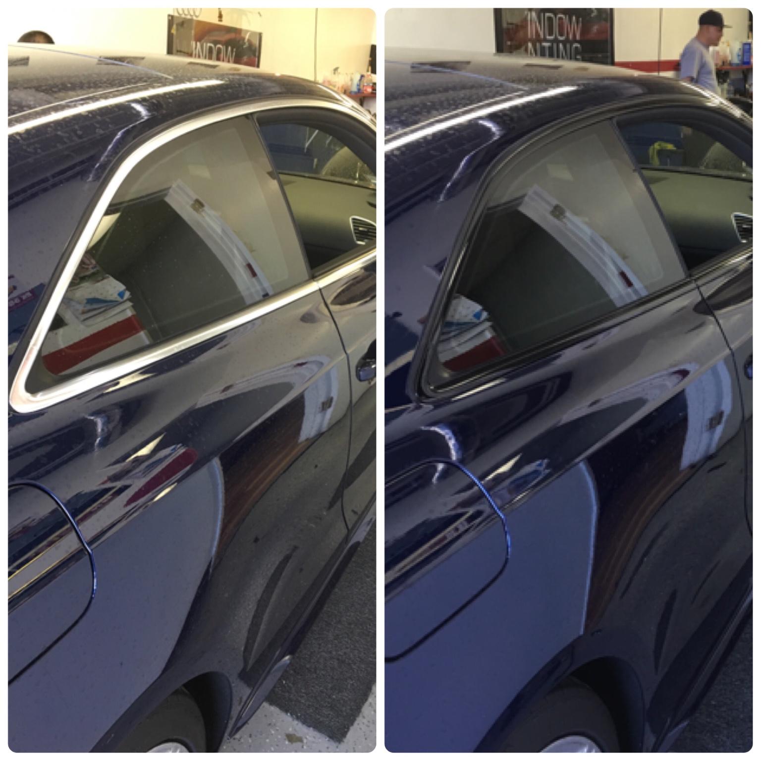 Chrome Window Trim Matte Wrap Or Gloss