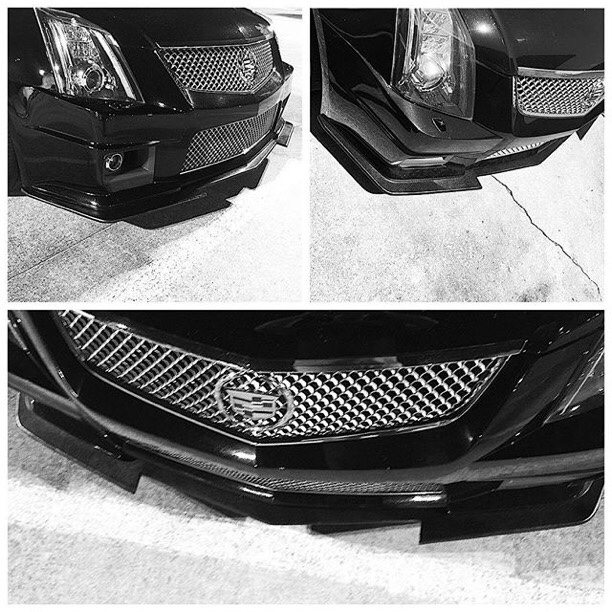 Custom front splitter, opinions?