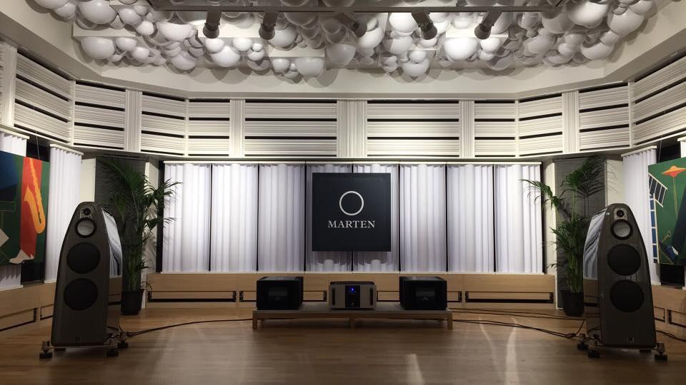 Marten Audio demolistening room
