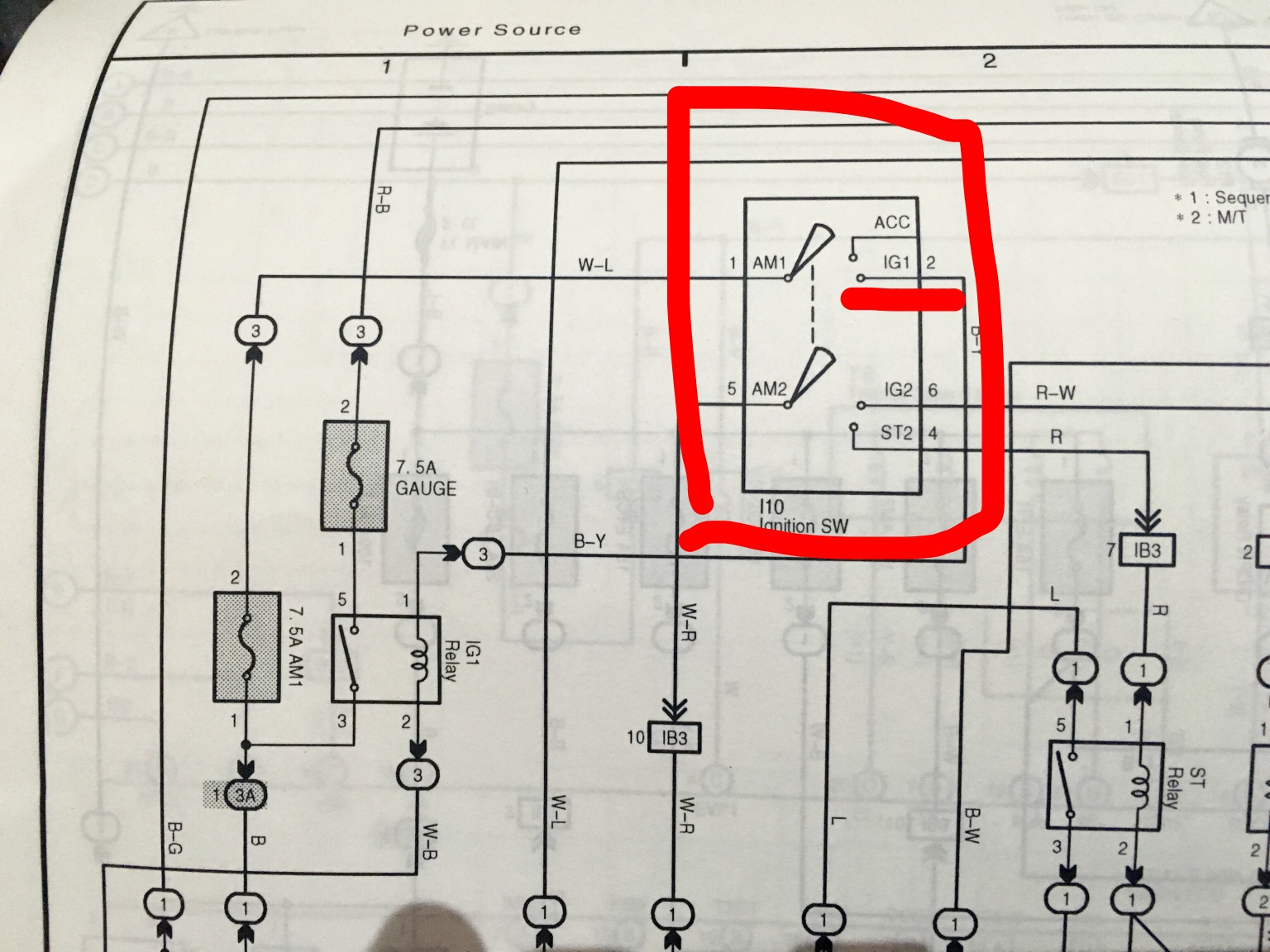 Fia Master Switch Kill Wiring Peugeot 106 Ignition The Contact Block Highlighted In My Previous Pictures Is One Below On Diagram Wire No2 Underlined Red Black Yellow