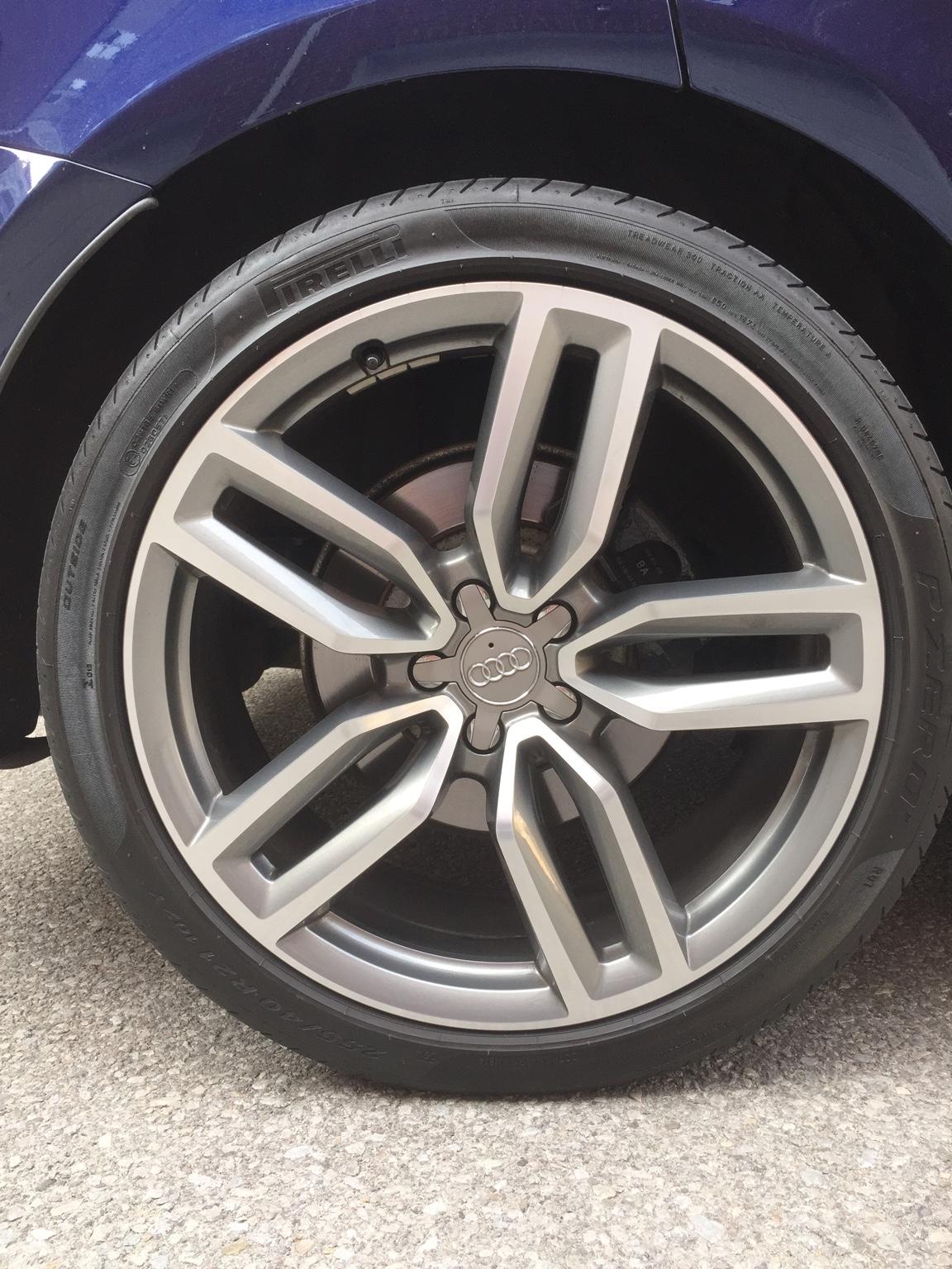 """Audi Q5 Feeler: SQ5 OEM 21"""" wheels (Toronto) - AudiWorld ..."""