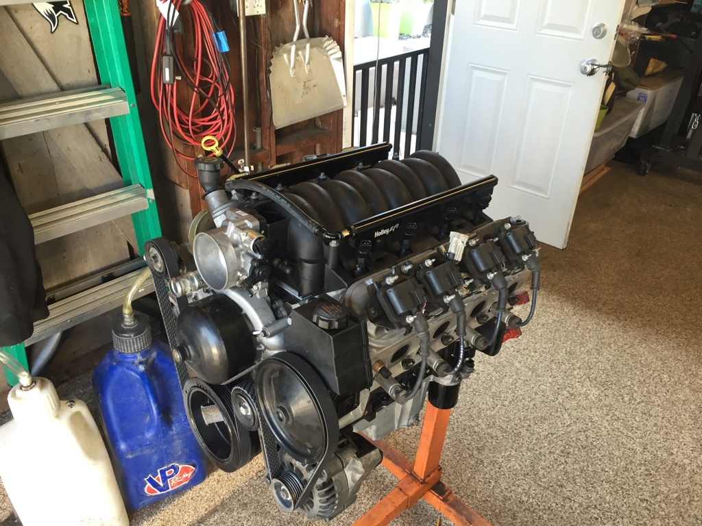 lq9 motor for complete wiring harness and computer brand new water pump and power steering pump this engine is complete all the way down to the serpentine belt ready to run plug and play