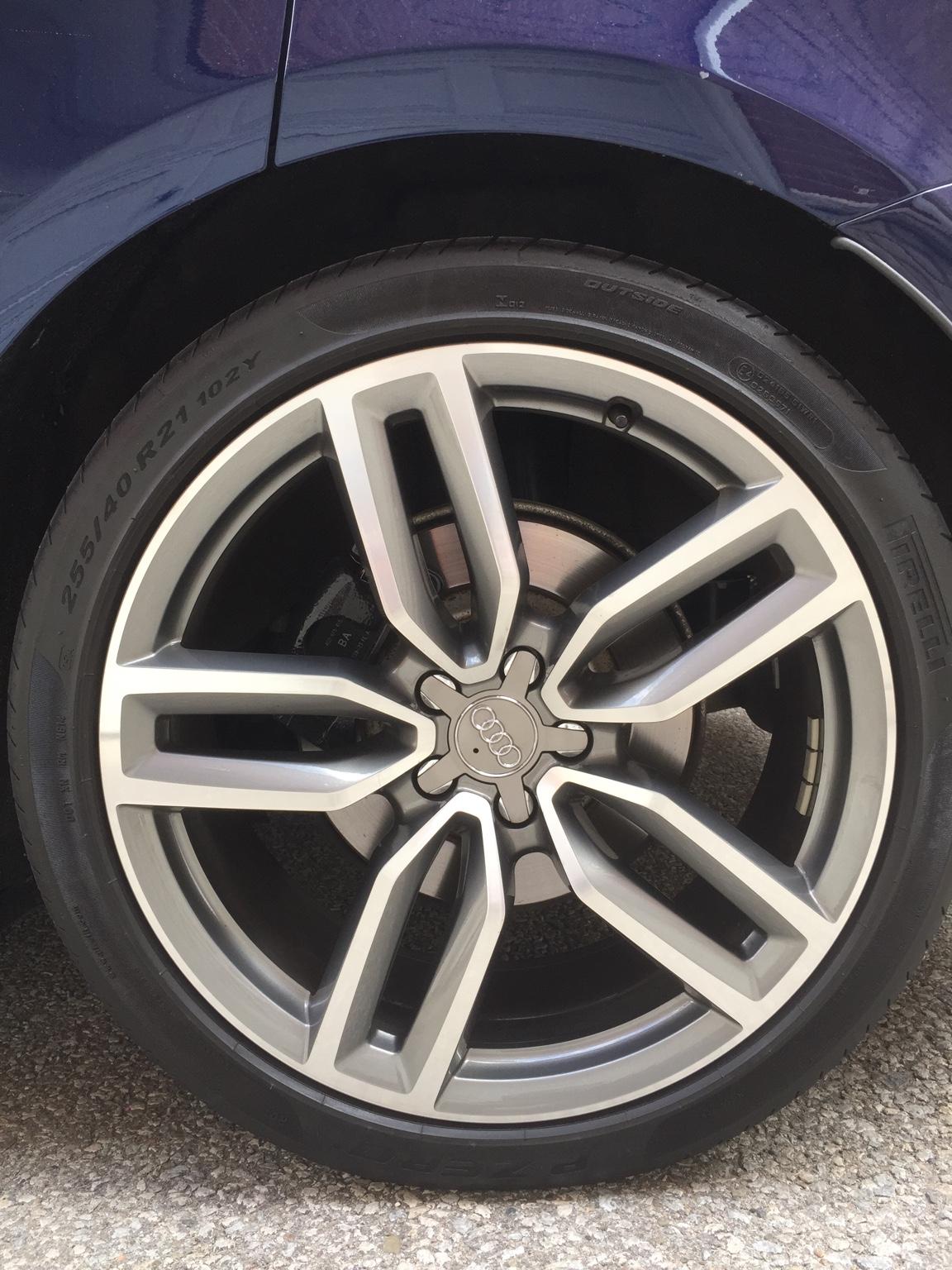 "Audi Q5 Feeler: SQ5 OEM 21"" wheels (Toronto) - AudiWorld Forums"