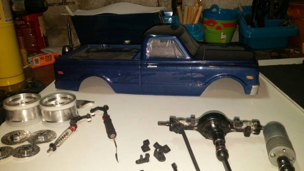 Bagged 1972 c10 rc drift build | The RCSparks Studio Online