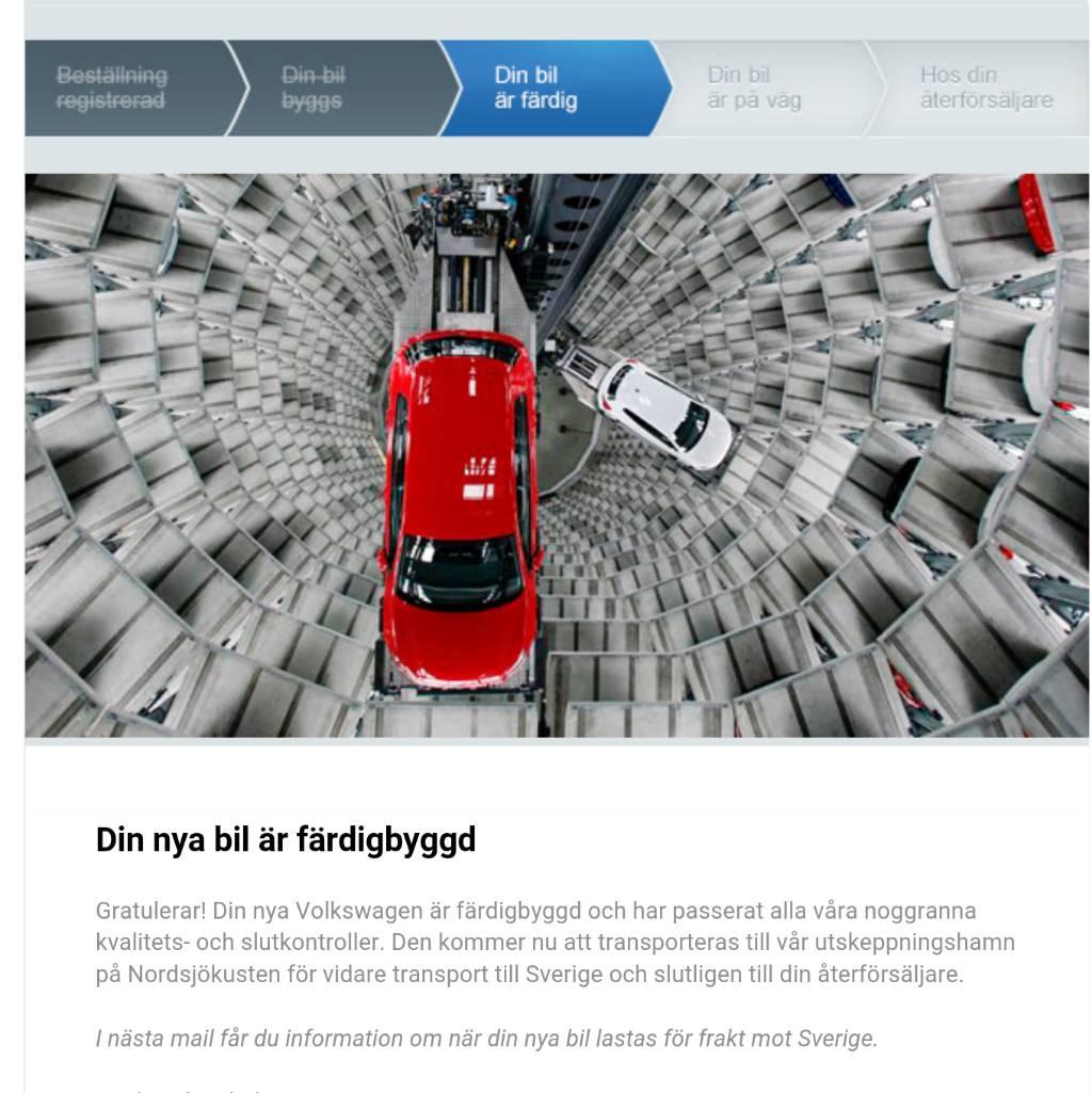 Prelimin r leveranstid vs produktionstid arkiv volkswagen club sweden