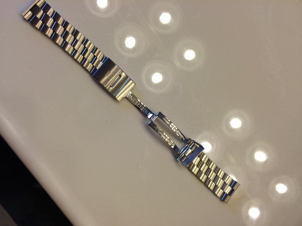 nouveau sélection correspondant en couleur achat original FS : Breitling Professional 2 Bracelet - Pro 2 20mm ...