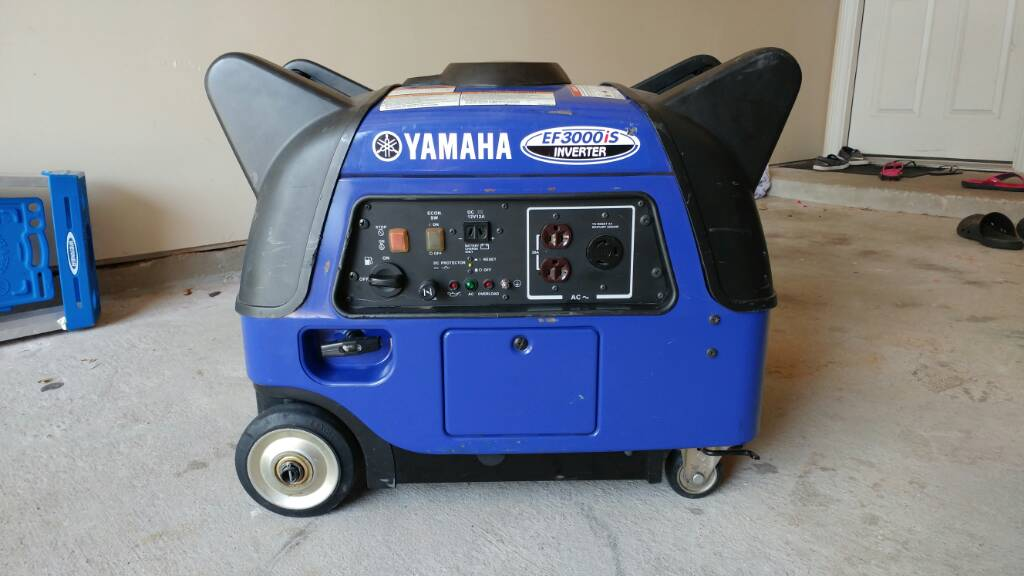 Yamaha ef3000is inverter generator for Yamaha generator ef3000is