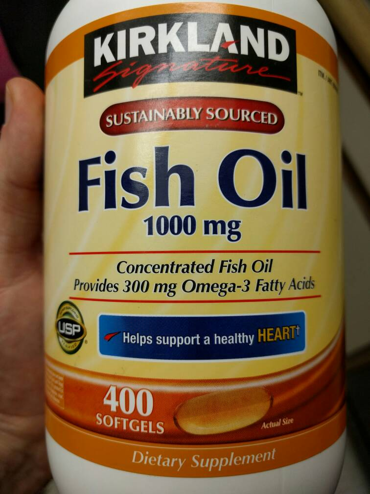 Increased my omega 3 dose to 3 grams for How much fish oil per day bodybuilding