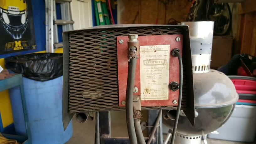 Stick welding hookup