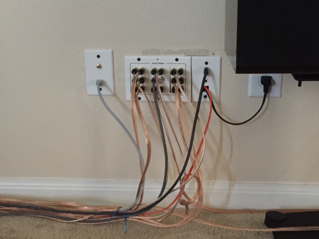 home theater wiring ideas all wiring diagram TV in Wall Wiring