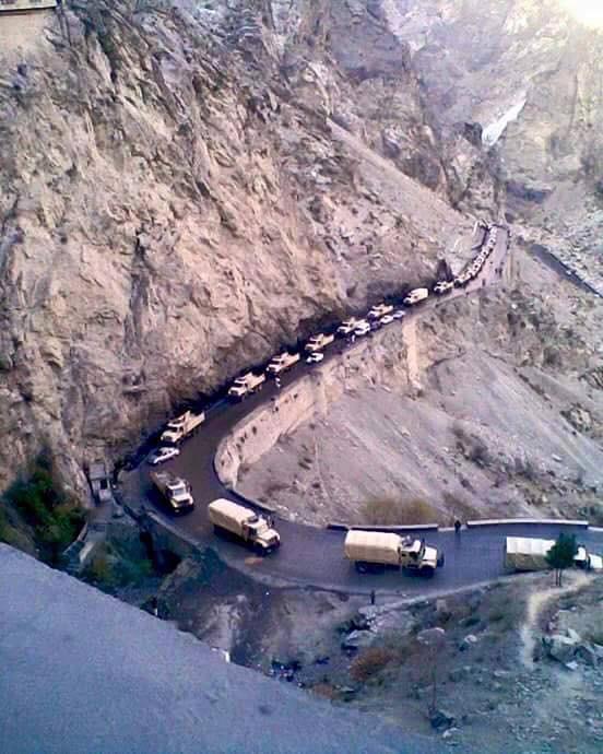 Firing on Pak-Afghan border as Pakistani forces build border posts