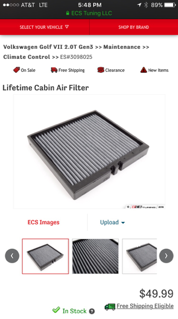 pollen cabin filter replacement page 2 golfmk7 vw. Black Bedroom Furniture Sets. Home Design Ideas