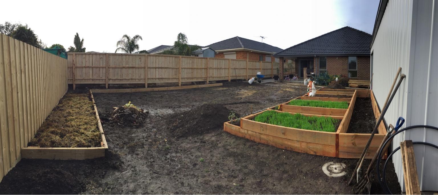 Veggie garden beds
