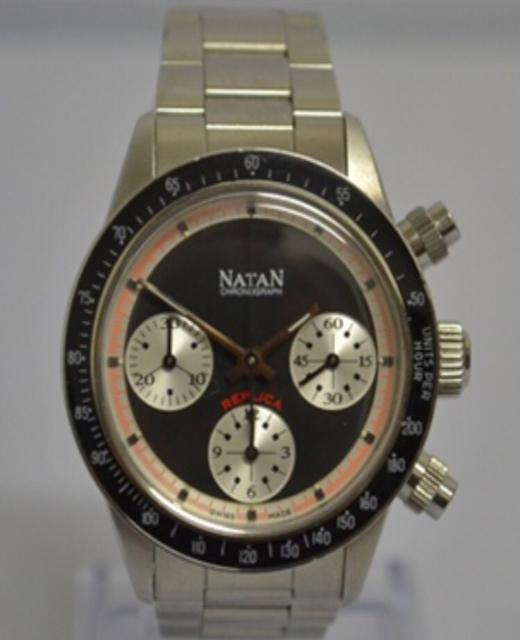 1b6bbf9aca4 Relógio Natan replica rolex Daytona Paul Newman.