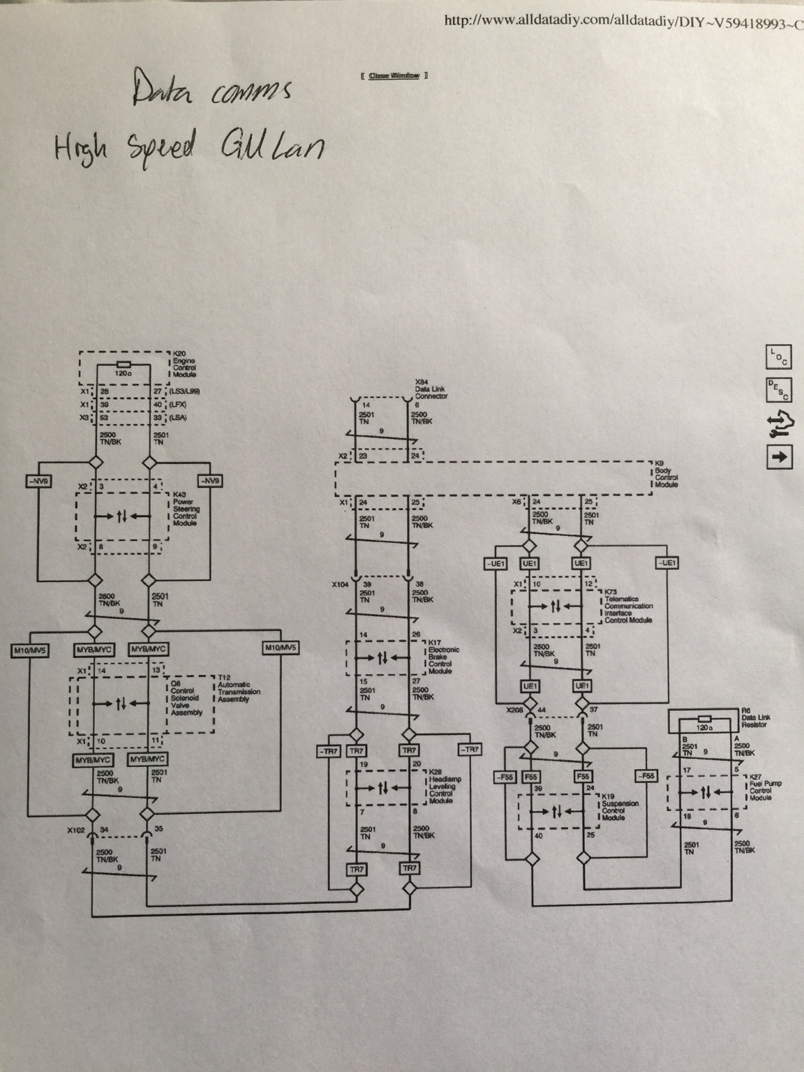 anyone have 2015 ss manual with harness information ... 1970 chevelle ss wiring diagram #15
