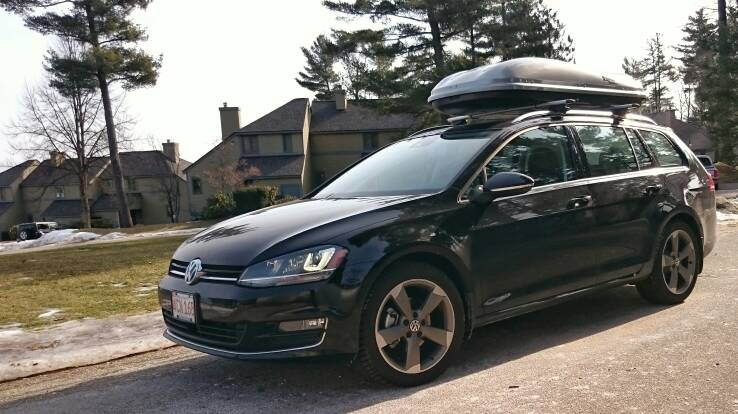 Vwvortex Com Show Me Your Box The Roof Mounted