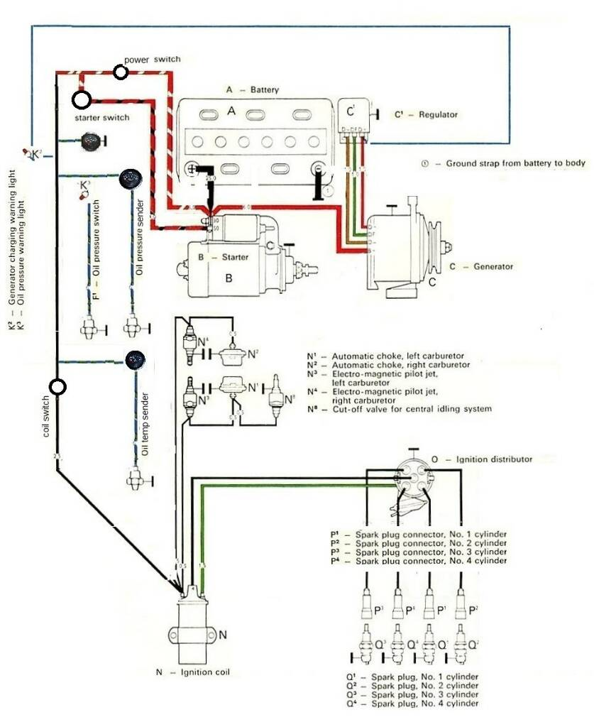start o matic wiring the late bay